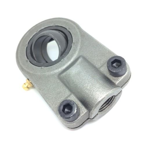 Embouts à rotule pour vérins hydraul. GIHNRK20 LO  avec blocage par vis sur la tige filetée, avec entretien, selon DIN ISO