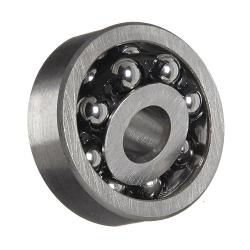 Roulement à rotule sur billes 1208 TNGC3 à alésage cylindrique à double rangée, auto-aligneur (Cage polyamide, Jeu C3)