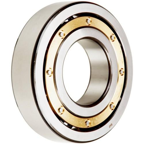 Roulement à rotule sur billes 2303 M à alésage cylindrique à double rangée, auto-aligneur (Cage en laiton)