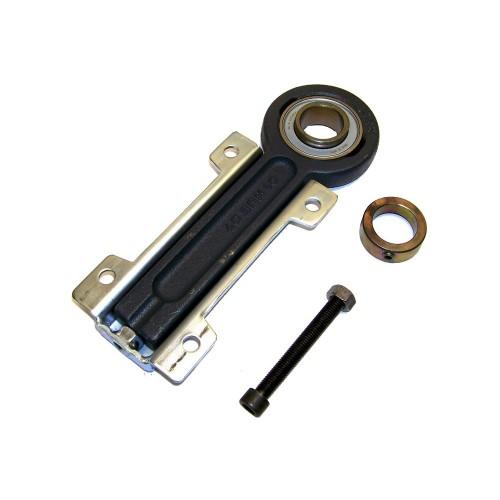 Coulisseaux tendeurs PHUSE25  corps de palier en fonte et en tôle, roulement auto-aligneur avec bague de blocage excentrée,