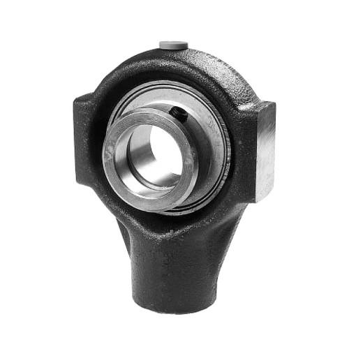 Coulisseaux tendeurs PHE50  corps de palier en fonte, roulement auto-aligneur avec bague de blocage excentrée, étanchéité P