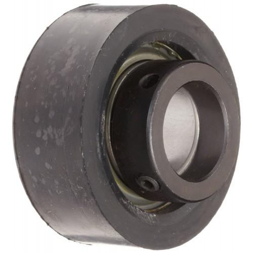 Roulement auto-aligneurs RCRA20 46 FA106  avec amortisseur en caoutchouc, fixation par bague de blocage excentrée, étanché