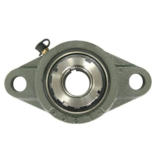 Paliers auto-aligneurs RCJTA20 N  paliers appliques à 2 trous de fixation, fonte, manchon de serrage, étanchéité R