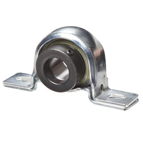 Paliers à semelle RPB25  corps de palier en tôle, roulement auto-aligneur avec bague de blocage excentrée et amortisseur en