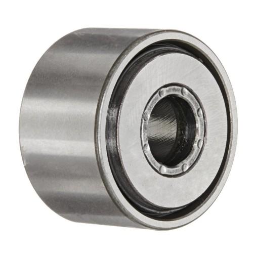 Galets de roulement NATV17 PP  à aiguilles jointives, avec guidage axial, rondelle de frottement des 2 côtés