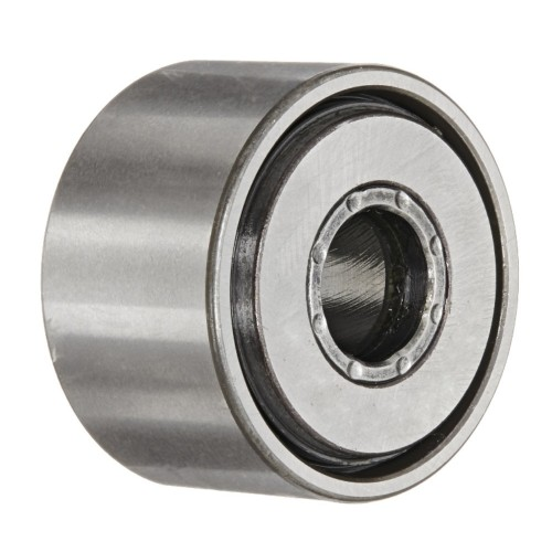 Galets de roulement NATV15 PP X  à aiguilles jointives, avec guidage axial, rondelle de frottement des 2 côtés