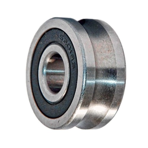 Galets de roulement LFR50 5 4 2RS RB  galets pour palier fixe, à 2 rangées, étanchéité par joint à lèvre des 2 côtés,
