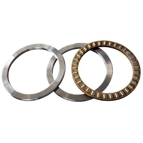 Butées à rouleaux cyl. 89317 M  à simple effet, combinaison de K893, GS, WS (Cage en laiton)
