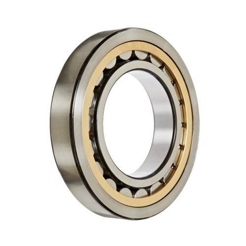 Roulement à rouleaux cylindriques NJ406 M1 C3 (Jeu C3, Cage en laiton)