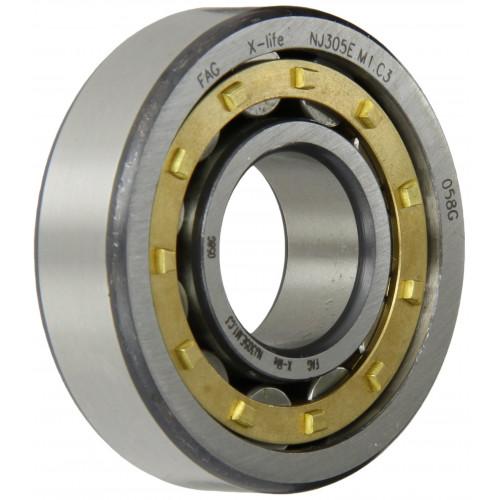 Roulement à rotule sur 1 rangée de rouleaux 20217 K MB C3 (Alésage conique, Jeu C3, Cage en laiton)