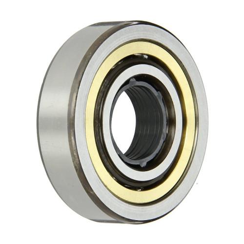 Roulement à billes à 4 points de contact QJ240 N2 MPA C3 (Jeu C3, Conception intérieure modifiée, Cage en laiton)
