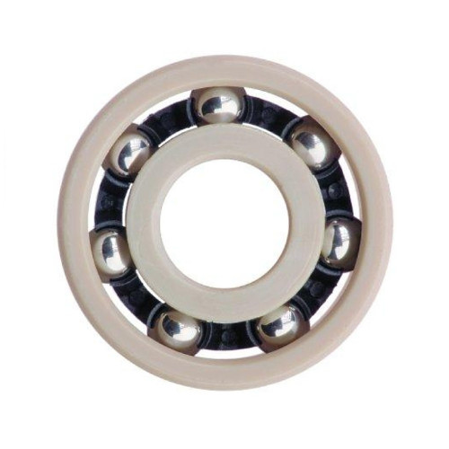 Roulement plastique  AC607-316 (Polyacétal avec billes inox 316 - contact alimentaire)