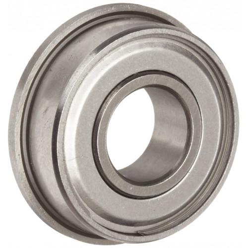 Roulement miniature SF604 ZZ (Inox, anti-poussières avec collerette)