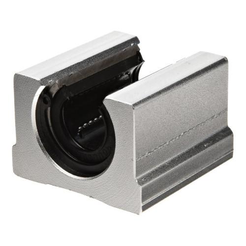 Palier à billes aluminium SBR 25 UU (étanches des deux côtés)