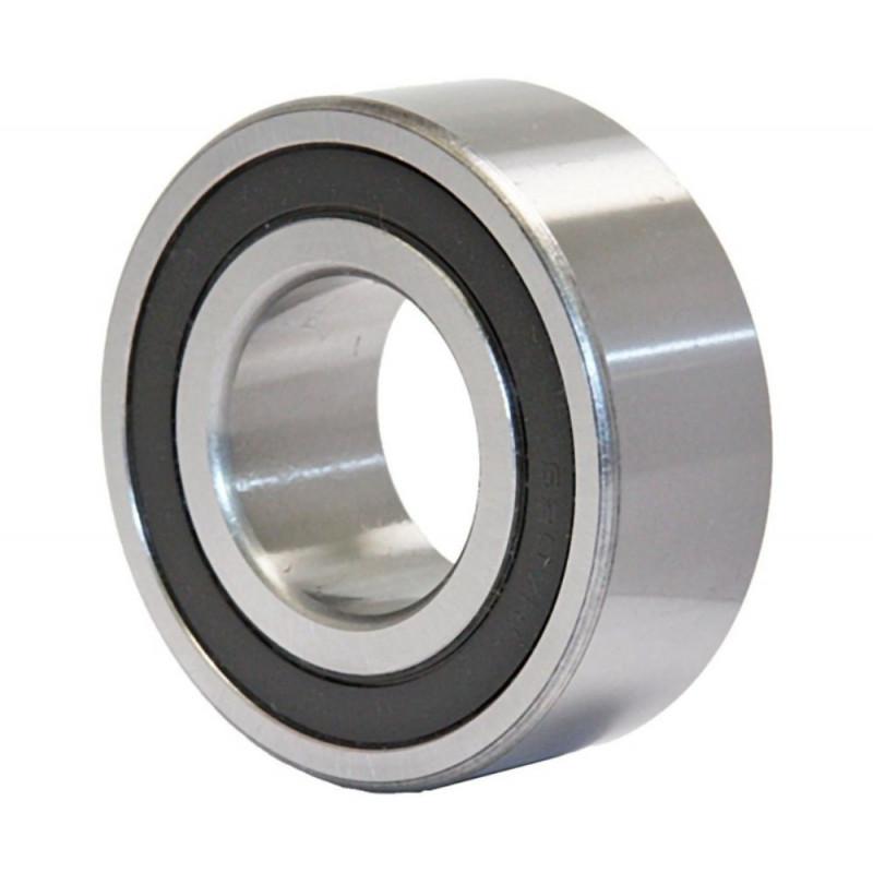 Roulement rigides à billes 6001 2RSH à une rangée (Joints d'étanchéité frottement en caoutchouc acrylonitrile-butadièn