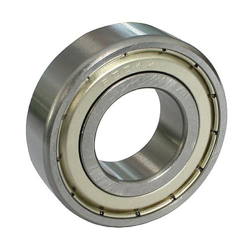 Roulement rigides à billes W619/6 2Z à une rangée, acier inoxydable (Flasques en tôle d'acier embouties des deux côtés