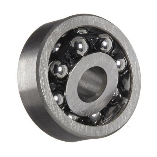 Roulement à rotule sur billes 126 TN9 C3, alésage cylindrique (Cage moulée par injection en polyamide 6, 6 renforcé par d