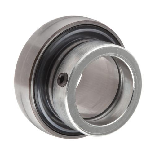 Roulement Y YEL205 014 2F avec bague de blocage excentrique (Déflecteur plat des deux côtés)