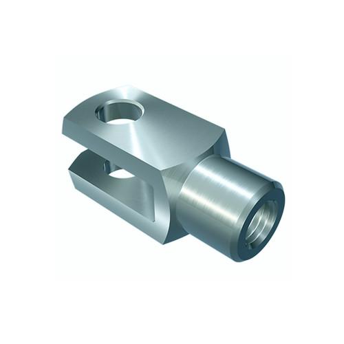 Chape à trou fileté (DIN71752-ISO 8140 CETOP) FK 12X24FG