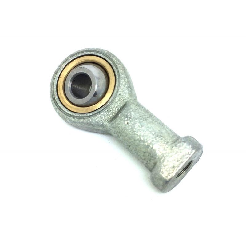Embout à rotule femelle acier /PTFE pas à gauche TSFL 10 C (sans entretien)