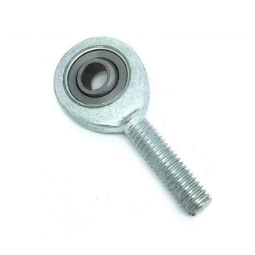 Embout à rotule mâle acier/bronze synthérisé avec PTFE pas à gauche SAL 15 C (sans entretien)