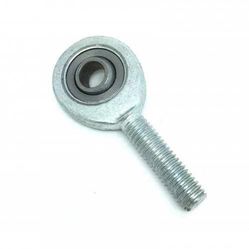 Embout à rotule mâle acier/bronze synthérisé avec PTFE pas à gauche SAL 25 C (sans entretien)