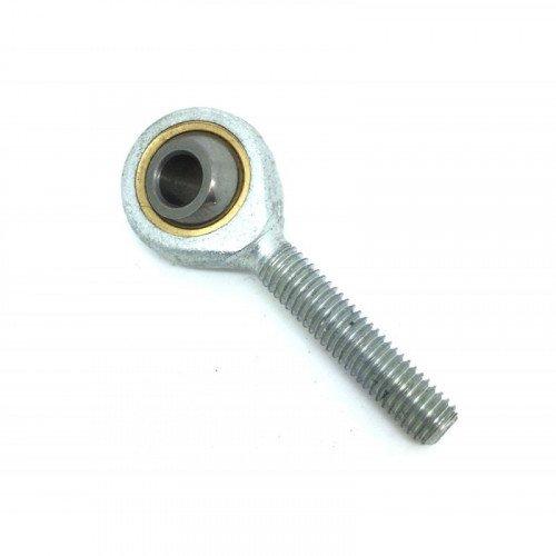 Embout à rotule mâle acier/PTFE  pas à gauche TSML 12 C (sans entretien)