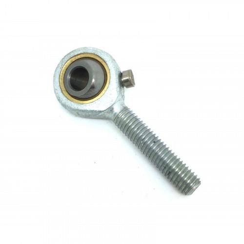 Embout à rotule mâle acier/bronze pas à gauche TSML 8 (avec entretien)