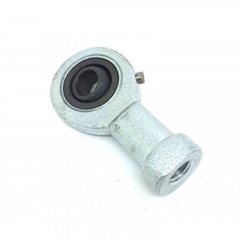 Embout à rotule femelle acier/acier  pas à gauche SIL 12 E (avec entretien)