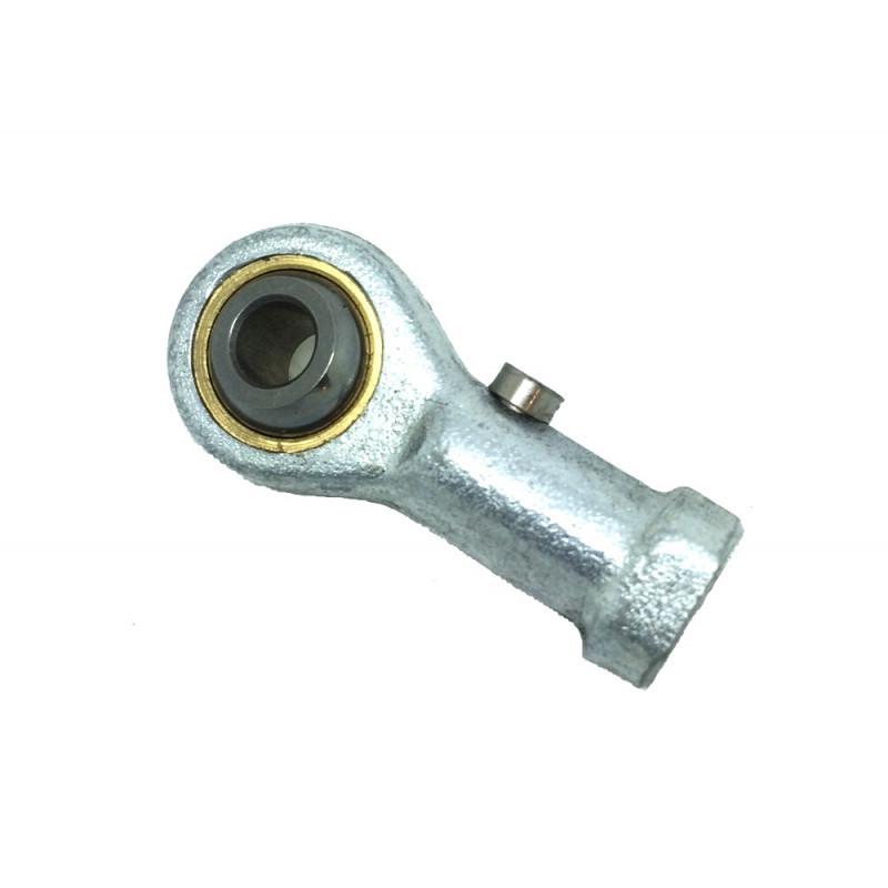 Embout à rotule femelle acier/bronze pas à gauche TSFL 8 (avec entretien)