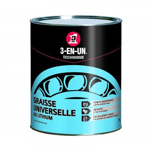 Pot de graisse universelle au lithium 1 kg
